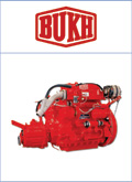 A. Bukh motoren en onderdelen