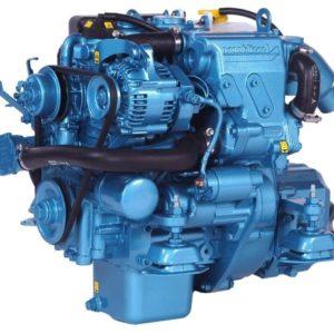Nanni Motoren met keerkoppeling